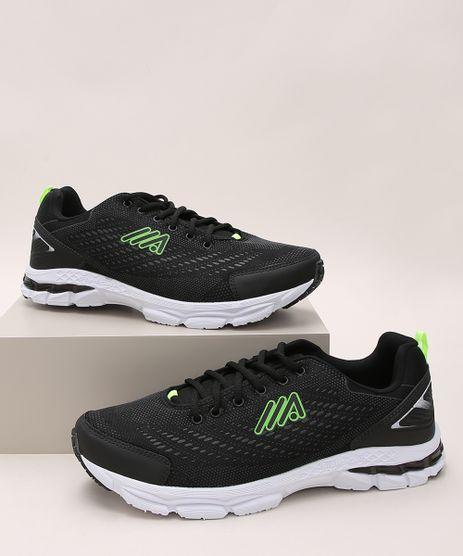Tenis-Masculino-Ace-Esportivo-com-Recortes-Preto-9902533-Preto_1