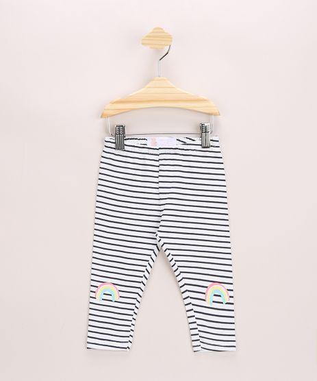 Calca-Legging-Infantil-Estampada-Listrada-e-com-Arco-Iris-Cos-com-Elastico-Off-White-9968510-Off_White_1