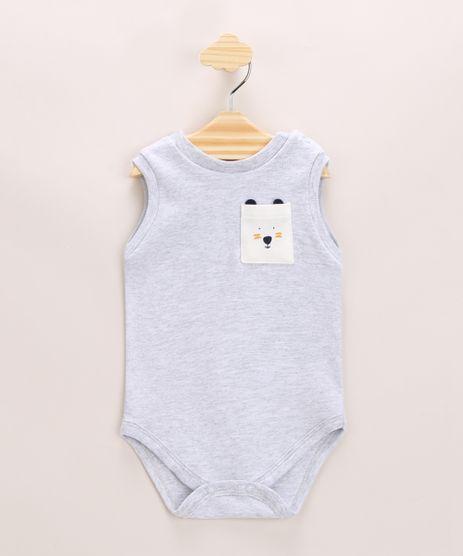 Body-Infantil-Ursinho-com-Bolso-sem-Manga-Cinza-Mescla-Claro-9968237-Cinza_Mescla_Claro_1