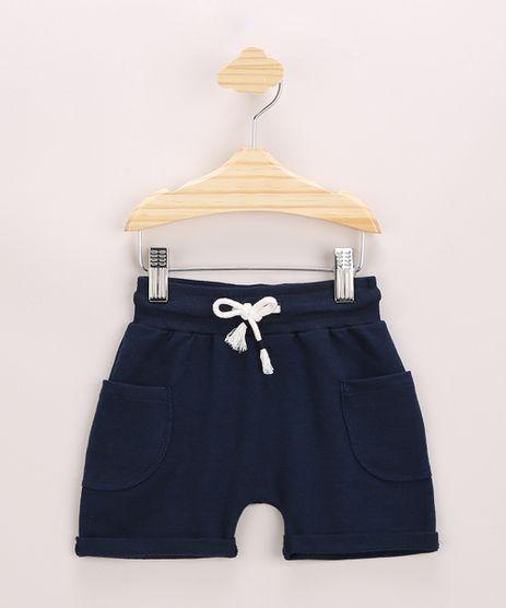 Short-de-Moletom-Infantil-Bolsos-Azul-Marinho-9968244-Azul_Marinho_1