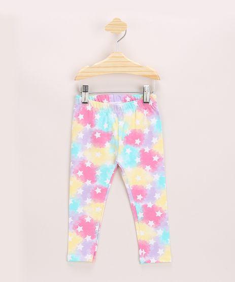 Calca-Legging-Infantil-Estampada-Tie-Dye-e-Estrelas-Cos-com-Elastico-Multicor-9969014-Multicor_1