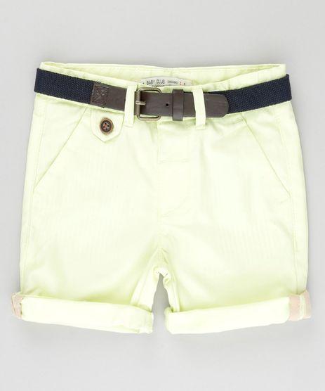 Bermuda-Slim-com-Cinto-Amarela-8710138-Amarelo_1