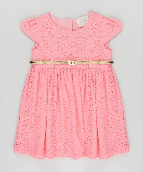 Vestido-em-Renda-com-Cinto-Rosa-8864948-Rosa_1