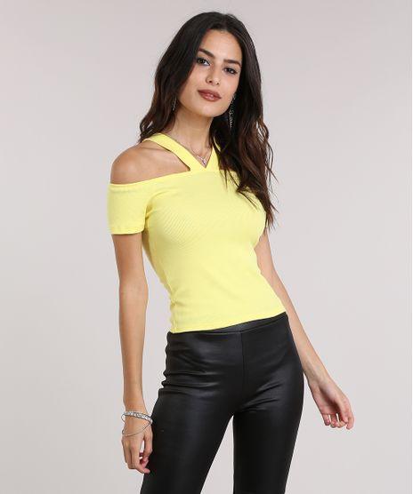 afe046d5d Blusa-Open-Shoulder-Amarela-8908238-Amarelo 1