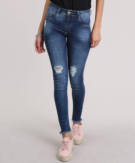 Calca-Jeans-Super-Skinny-Destroyed-Sawary-Azul-Medio-8865780-Azul_Medio_1