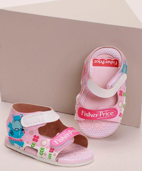 Sandalia-Infantil-Grendene-Estampada-Flores-e-Bichos-com-Velcro-Rosa-9974153-Rosa_1