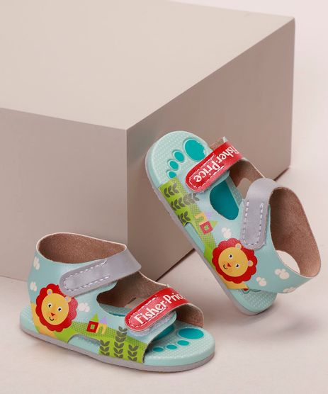 Sandalia-Infantil-Grendene-Estampada-Bichos-com-Velcro-Cinza-9974155-Cinza_1
