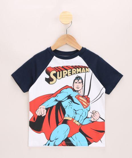 Camiseta-Infantil-Raglan-Super-Homem-Manga-Curta-Gola-Careca-Off-White-9969349-Off_White_1