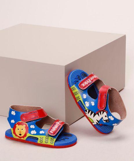 Sandalia-Infantil-Grendene-Estampada-Bichos-com-Velcro-Azul-9974154-Azul_1