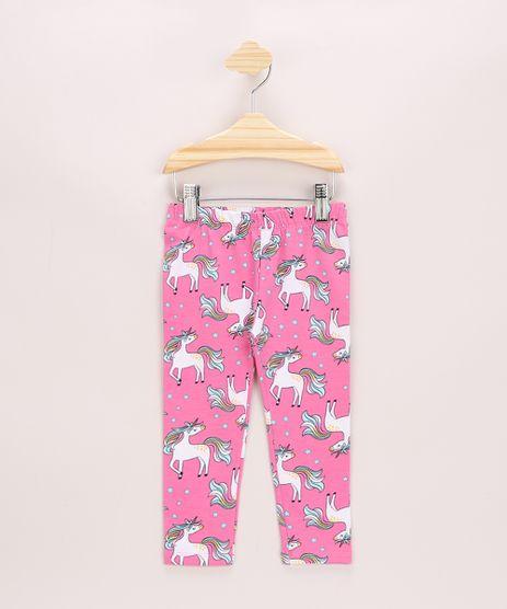 Calca-Legging-Infantil-Estampada-de-Unicornio-Rosa-9963649-Rosa_1