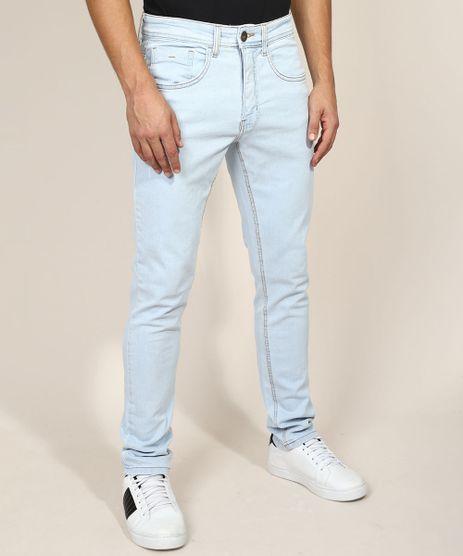 Calca-Jeans-Masculina-Slim-com-Puidos-Azul-Claro-9964148-Azul_Claro_1