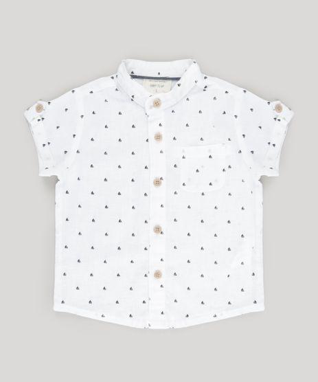 Camisa-Estampada-de-Ancoras-com-Linho-Branca-8761731-Branco_1