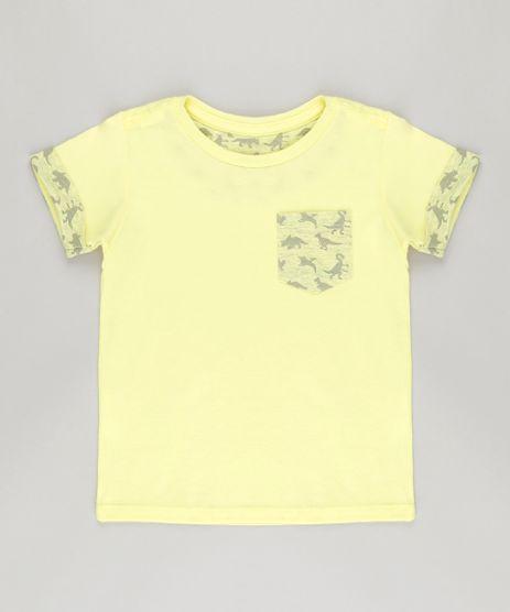 Camiseta-com-Dinossauros-Amarela-8831987-Amarelo_1