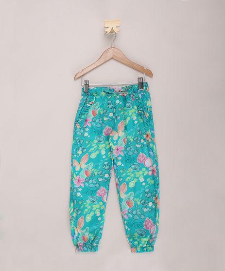 Calca-Infantil-Jogger-Estampada-Floral-Verde-9965252-Verde_1