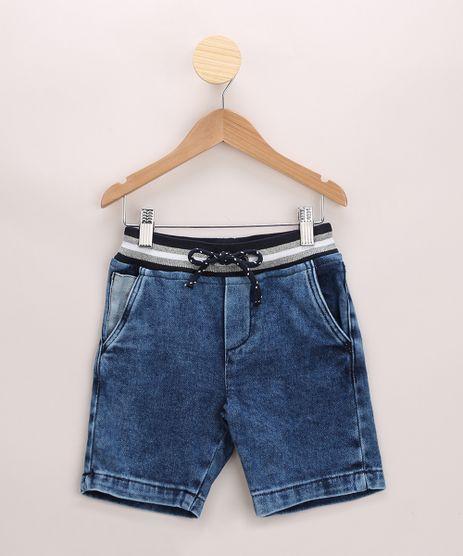 Bermuda-Infantil-Jeans-Moletom-Azul-Medio-9968895-Azul_Medio_1