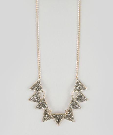 Colar-Geometrico-com-Strass-Dourado-8759383-Dourado_1