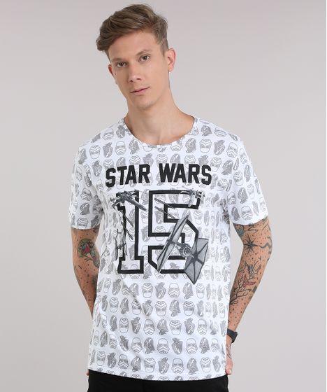 Camiseta-Estampada-Star-Wars-Branca-8759291-Branco 1 ... 4e3466b4a60