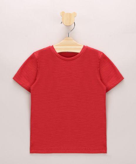Camiseta-Infantil-em-Flame-Basica-Manga-Curta-Vermelha-9967102-Vermelho_1