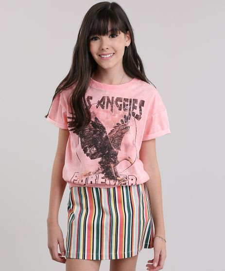 Blusa--Los-Angeles-Forever--Rosa-8816640-Rosa_1