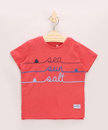 Camiseta-Infantil-Flame---Sea-Sun-Salt--Barcos-com-Bordado-Manga-Curta-Vermelha-9964039-Vermelho_1