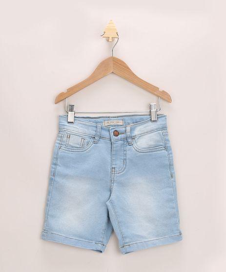 Bermuda-Jeans-Infantil-Ciclista-com-Bolsos-Azul-Claro-9955040-Azul_Claro_1