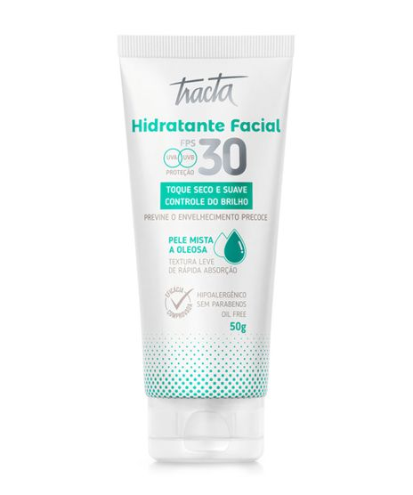 Hidratante-Facial-Tracta-FPS30-Pele-Mista-a-Oleosa---50g-Unico-9968264-Unico_1