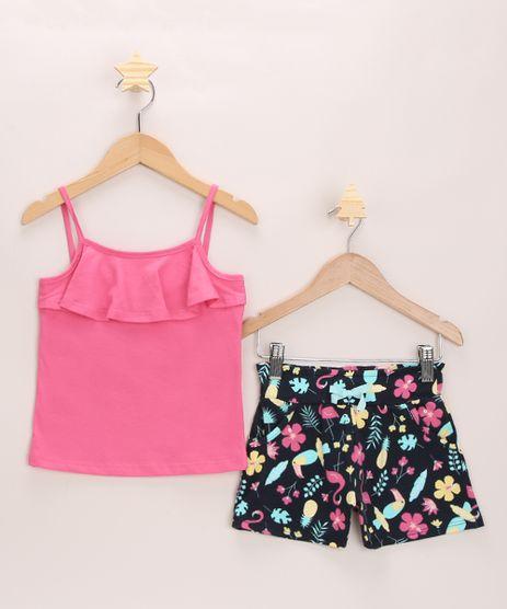 Conjunto-Infantil-Regata-Rosa-com-Babado---Short-Estampado-Flamingos-Azul-Marinho-9968650-Azul_Marinho_1