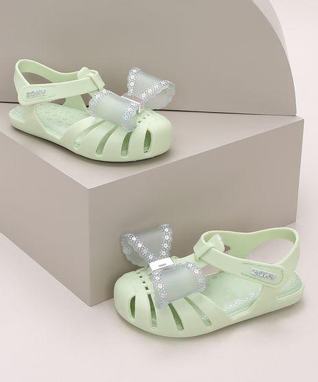 Sandalia-Infantil-Zaxy-com-Laco-Verde-Claro-9974176-Verde_Claro_1