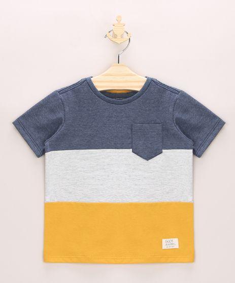 Camiseta-Infantil-com-Recortes-e-Bolso-Manga-Curta-Multicor-9964086-Multicor_1