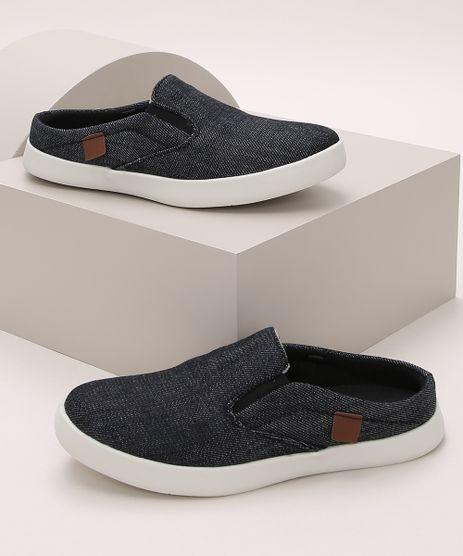 Tenis-Mule-Infantil-Slip-Jeans-Preto-9971522-Preto_1