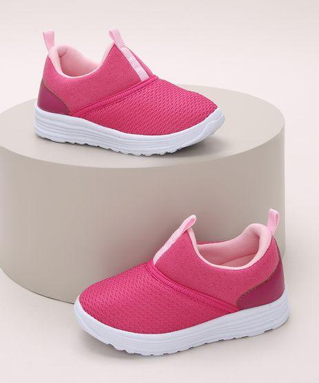 Tenis-Infantil-Calce-Facil-Texturizado-Pink-9972184-Pink_1