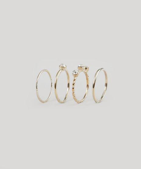 Kit-de-4-Aneis-Dourado-8793020-Dourado_1