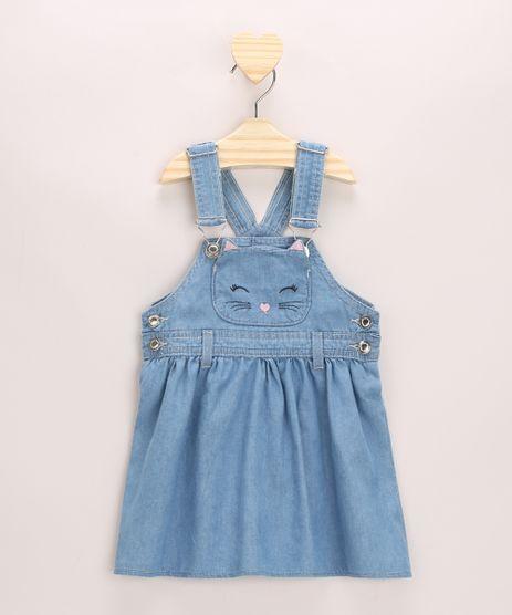 Jardineira-Jeans-Infantil-Gatinho-Bordado-com-Bolso-Azul-Claro-9966134-Azul_Claro_1