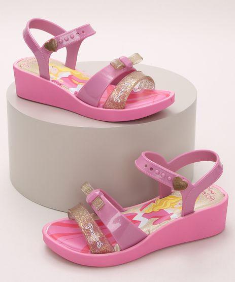 Sandalia-Infantil-Grendene-Bela-Adormecia-Salto-Baixo-com-Tiras-e-Laco-Pink-9974208-Pink_1