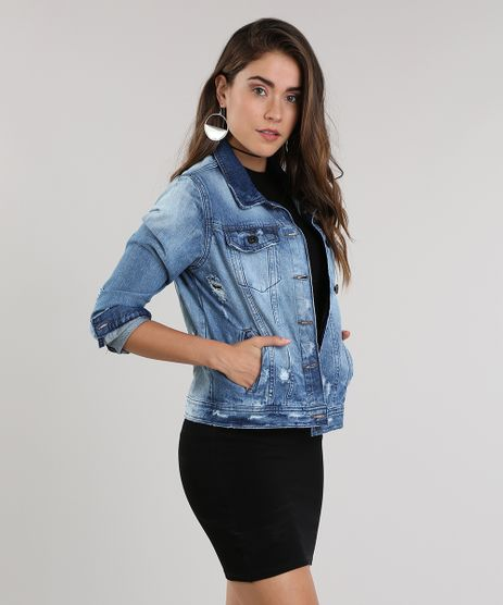 Jaqueta-Jeans---the-Tiger--Destroyed-Azul-Escuro-8789441-Azul_Escuro_1
