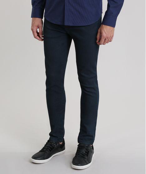 6a5637e4b Calca-Jeans-Skinny-Resinada-Azul-Escuro-8842374-Azul Escuro 1 ...