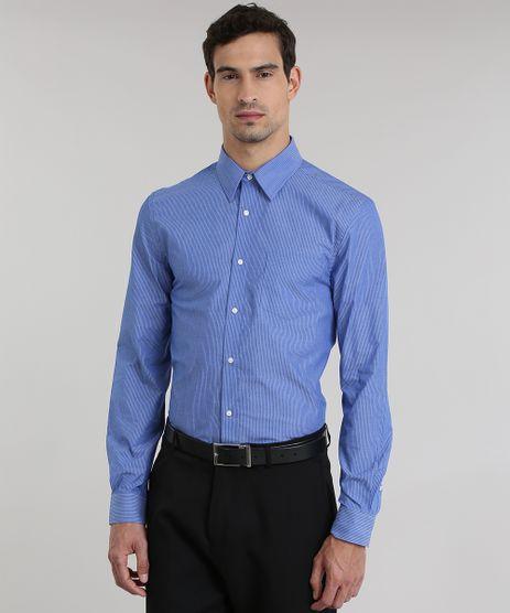 Camisa-Comfort-Listrada-Azul-8751269-Azul_1
