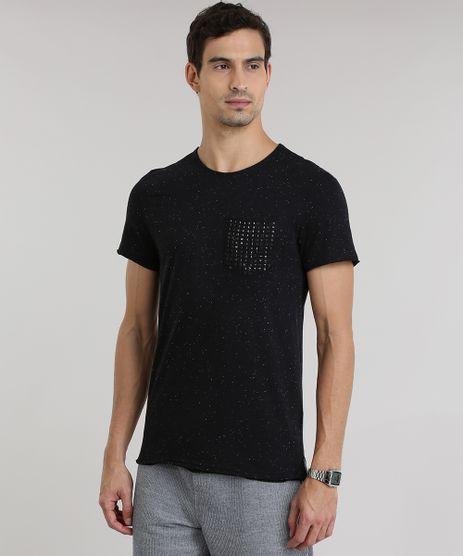 Camiseta-Botone-com-Bolso-de-Tachas-Preta-8775501-Preto_1