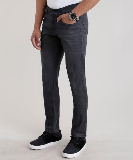 Calca-Jeans-Slim-com-Algodao---Sustentavel-Preta-8469585-Preto_1