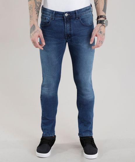 Calca-Jeans-Skinny-com-Algodao---Sustentavel-Azul-Medio-8701537-Azul_Medio_1