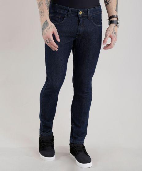 Calca-Jeans-Slim-com-Algodao---Sustentavel-Azul-Escuro-8701555-Azul_Escuro_1