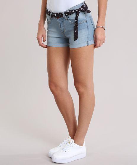 Short-Jeans-Reto-com-Faixa-Estampada-de-Estrelas-Azul-Claro-8841263-Azul_Claro_1