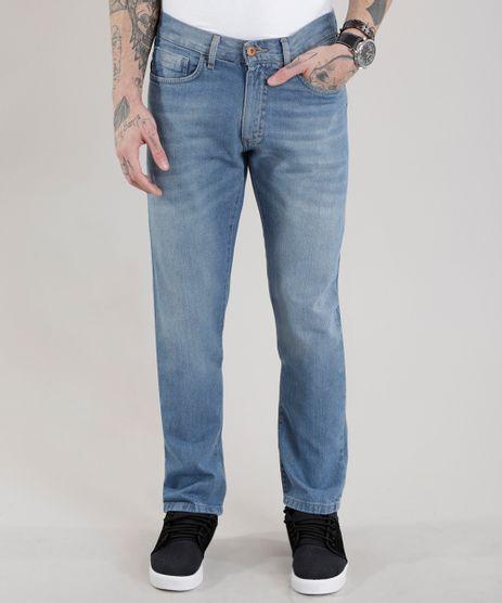 Calca-Jeans-Reta-com-Algodao---Sustentavel-Azul-Medio-8469565-Azul_Medio_1