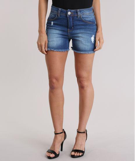 Short-Jeans-Reto-Alto-Azul-Medio-8837598-Azul_Medio_1