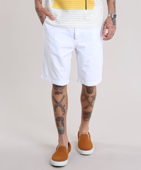Bermuda-Slim-Estampada-de-Folhas-Branca-8775057-Branco_1