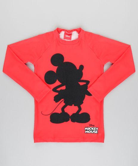 Camiseta-Mickey-com-protecao-UV50--Vermelha-8907219-Vermelho_1