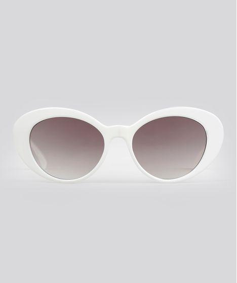 361fcc7c07922 Oculos-de-Sol-Gatinho-Feminino-Oneself-Branco-9010905- ...