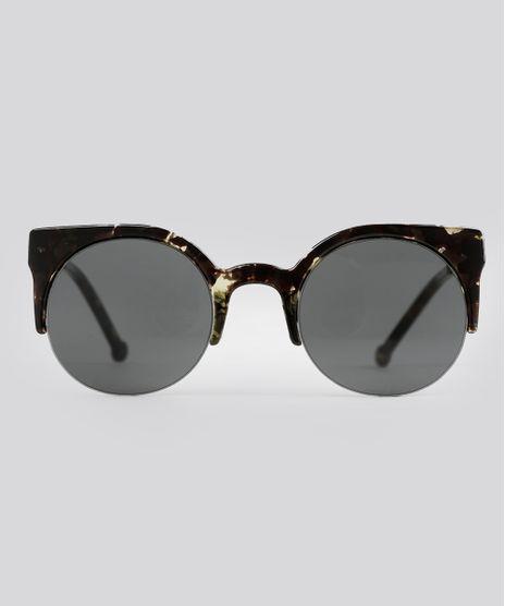 Oculos-de-Sol-Redondo-Feminino-Oneself-Tartaruga-9015882-Tartaruga_1