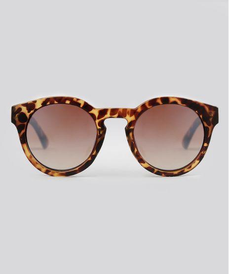 Oculos-de-Sol-Redondo-Feminino-Oneself-Tartaruga-9016407-Tartaruga_1
