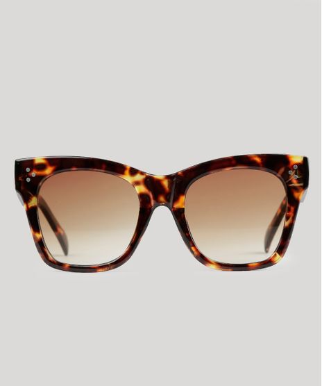 Oculos-de-Sol-Quadrado-Feminino-Oneself-Tartaruga-9016410-Tartaruga_1